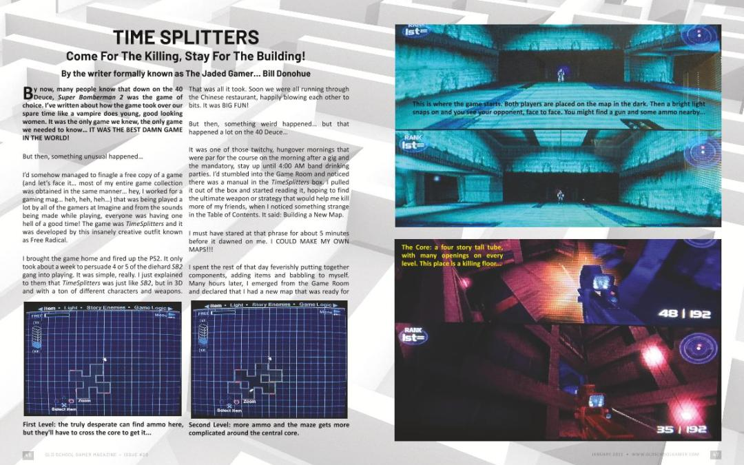 Time Splitters – by Bill Donohue