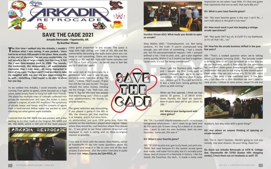 Save the Cade 2021 – by Gunther Vinson