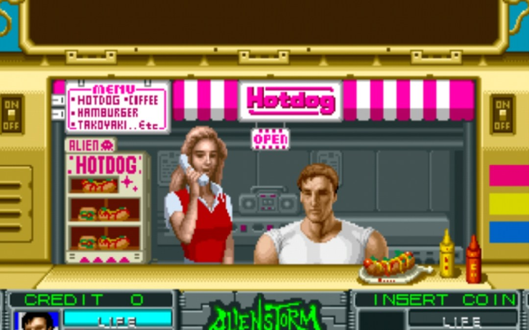 Alien Storm on iiRcade Review