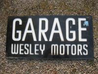 Old Shop Stuff   Old-Perspex-Sign-For-Sale-garage-Wesley ...