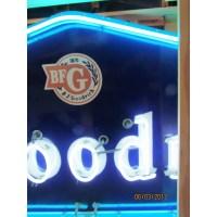 "New ""B.F. Goodrich"" Neon Sign - 8 FT x 4 FT"