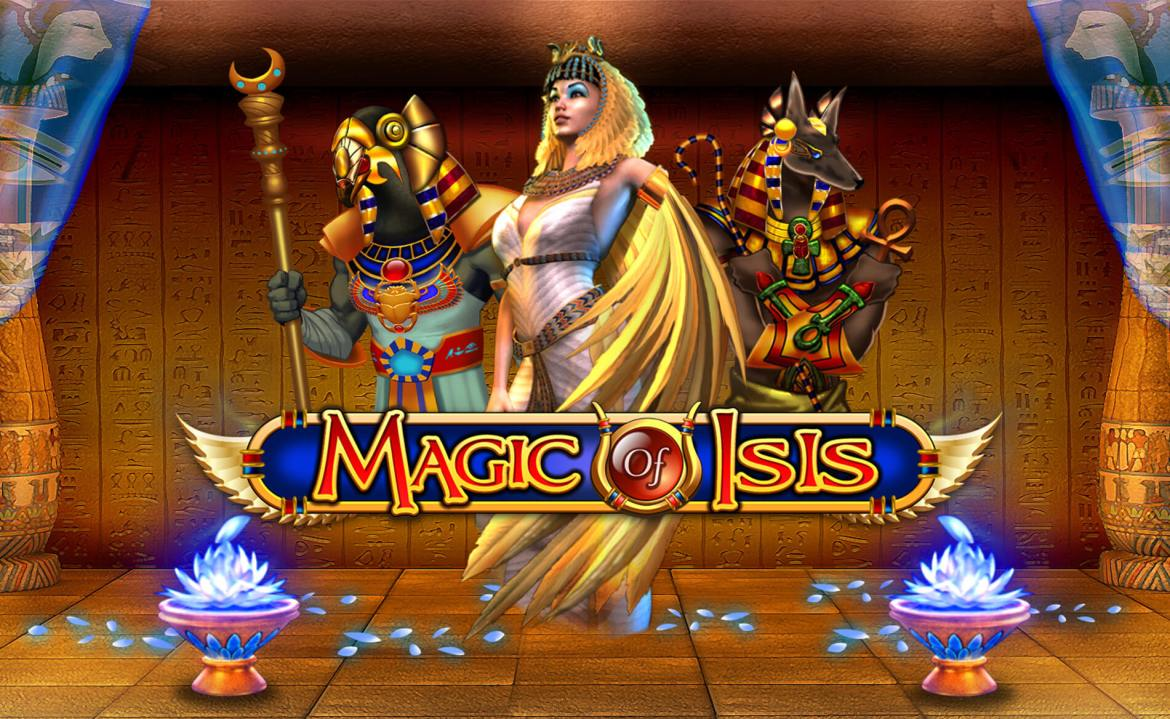 Magic of Isis - Attract Screen