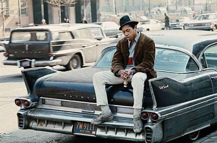 Fotografía de New york en 1970