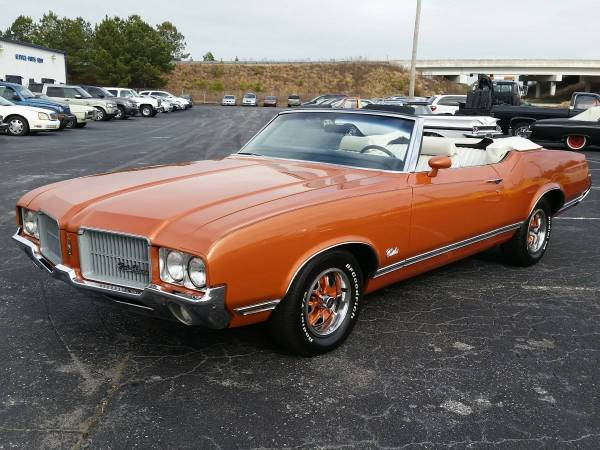 71 Cutlass On 24s Year Of Clean Water