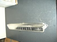 1959 Oldsmobile Clock Hole Delete Aluminum Panel NOS # 574438