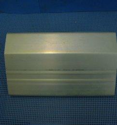 1975 1976 corvette rear bumper impact bar cover support nos 359991 [ 1024 x 768 Pixel ]