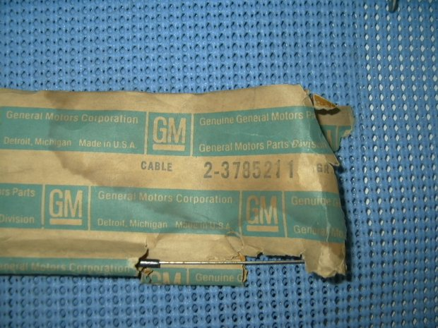 1959-1965 Chevrolet Turn Signal Switch Control Cable NOS # 3785211