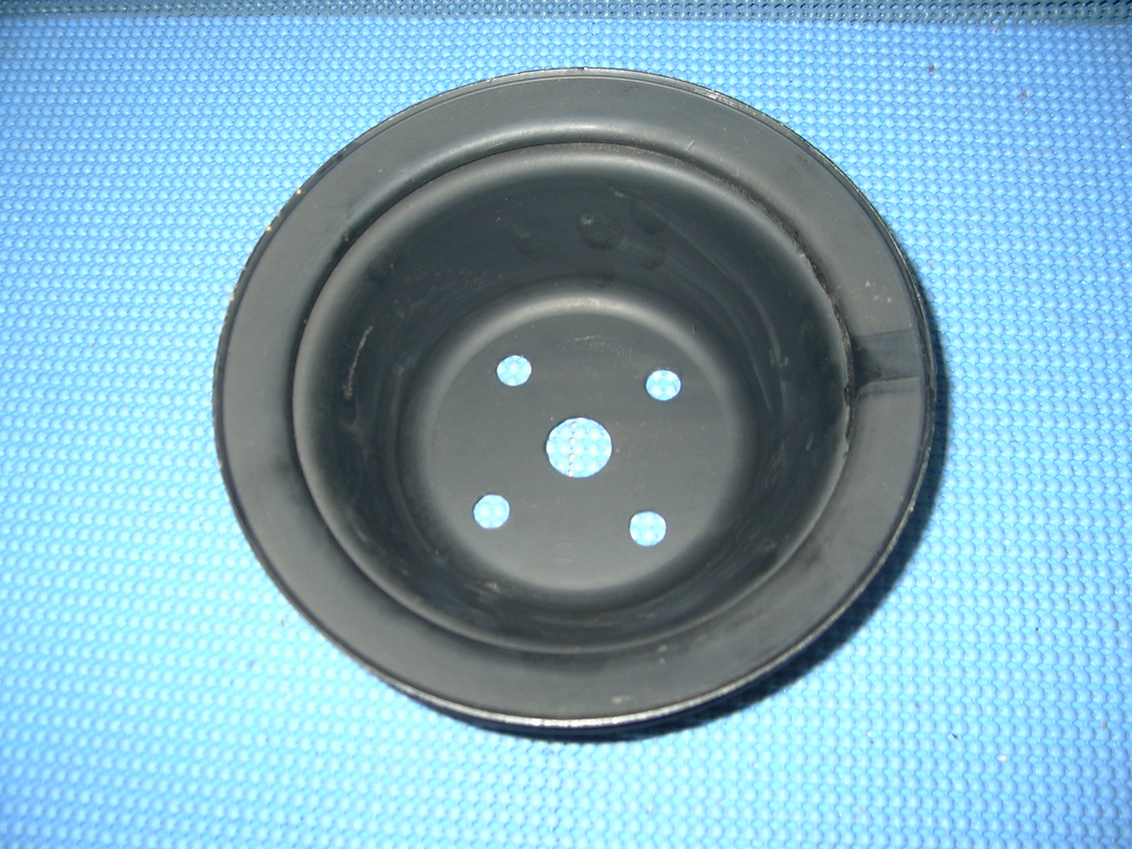 hight resolution of 1958 1959 chevrolet truck water pump pulley nos 3742039