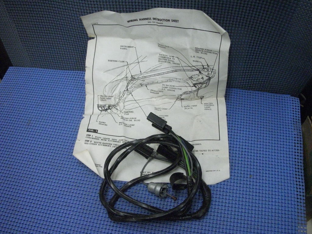 Chevy Truck Heater Control Switch Wiring On 1961 Willys Truck Wiring