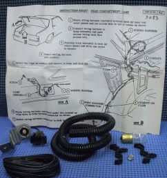 1980 1981 gm luggage compartment lamp package nos 996594 [ 1024 x 768 Pixel ]