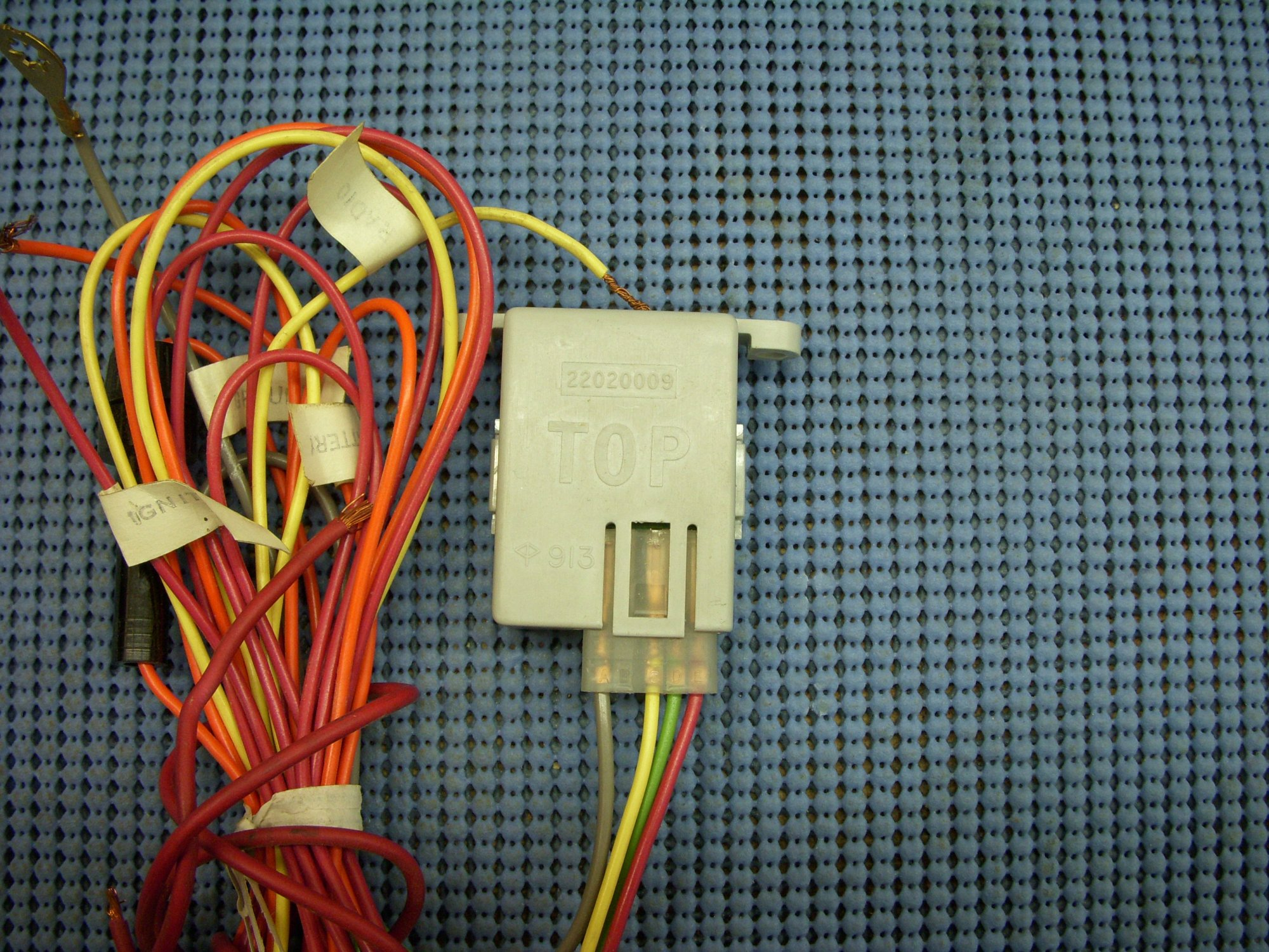 hight resolution of you re viewing 1978 1979 chevrolet power antenna relay with wiring harness nos 22020009 125 00