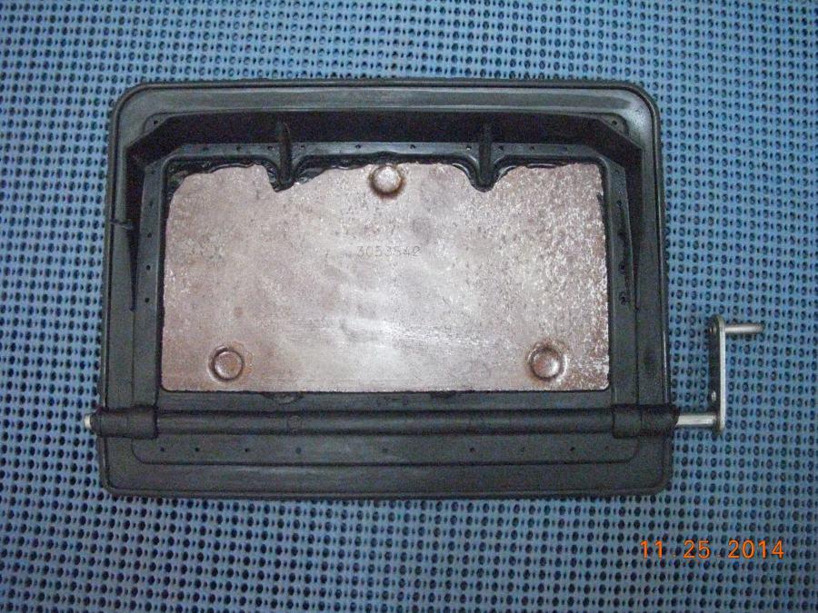 Chevy Heater Control Valve Deluxe 19551956 14