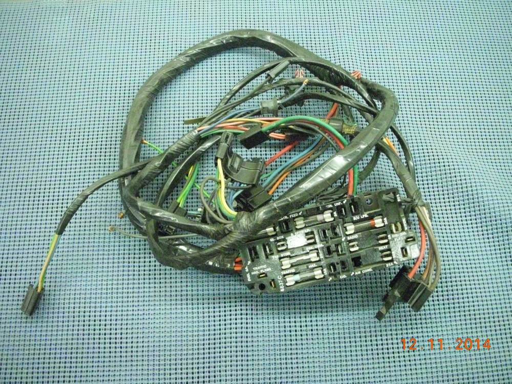 medium resolution of you re viewing 1968 1972 chevrolet and gmc truck instrument panel wiring harness nos 6299740 350 00