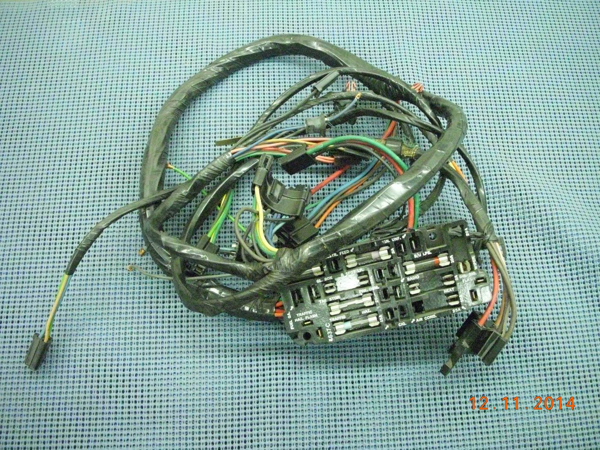 hight resolution of you re viewing 1968 1972 chevrolet and gmc truck instrument panel wiring harness nos 6299740 350 00
