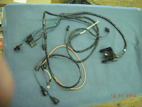 small resolution of 1970 chevrolet camaro ignition start wiring harness nos 8901410