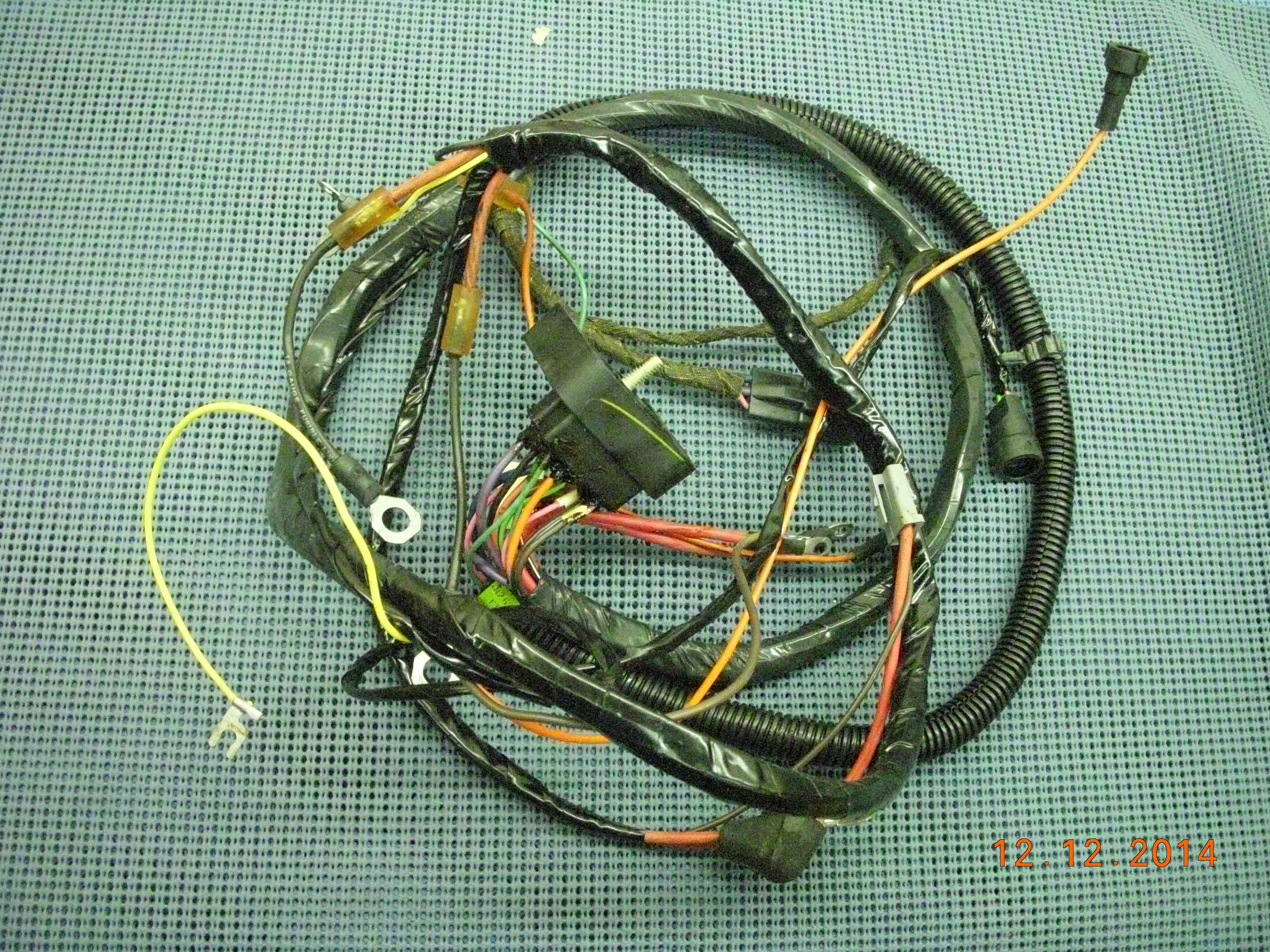1973 1974 gm ignition start wiring harness assembly nos 8901992 rh oldsobsolete com 2010 Chevy Malibu Radio Wiring Harness GM Wiring Harness