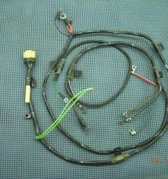 1960 1962 gmc pickup engine wiring harness nos 2980634 [ 3264 x 2448 Pixel ]