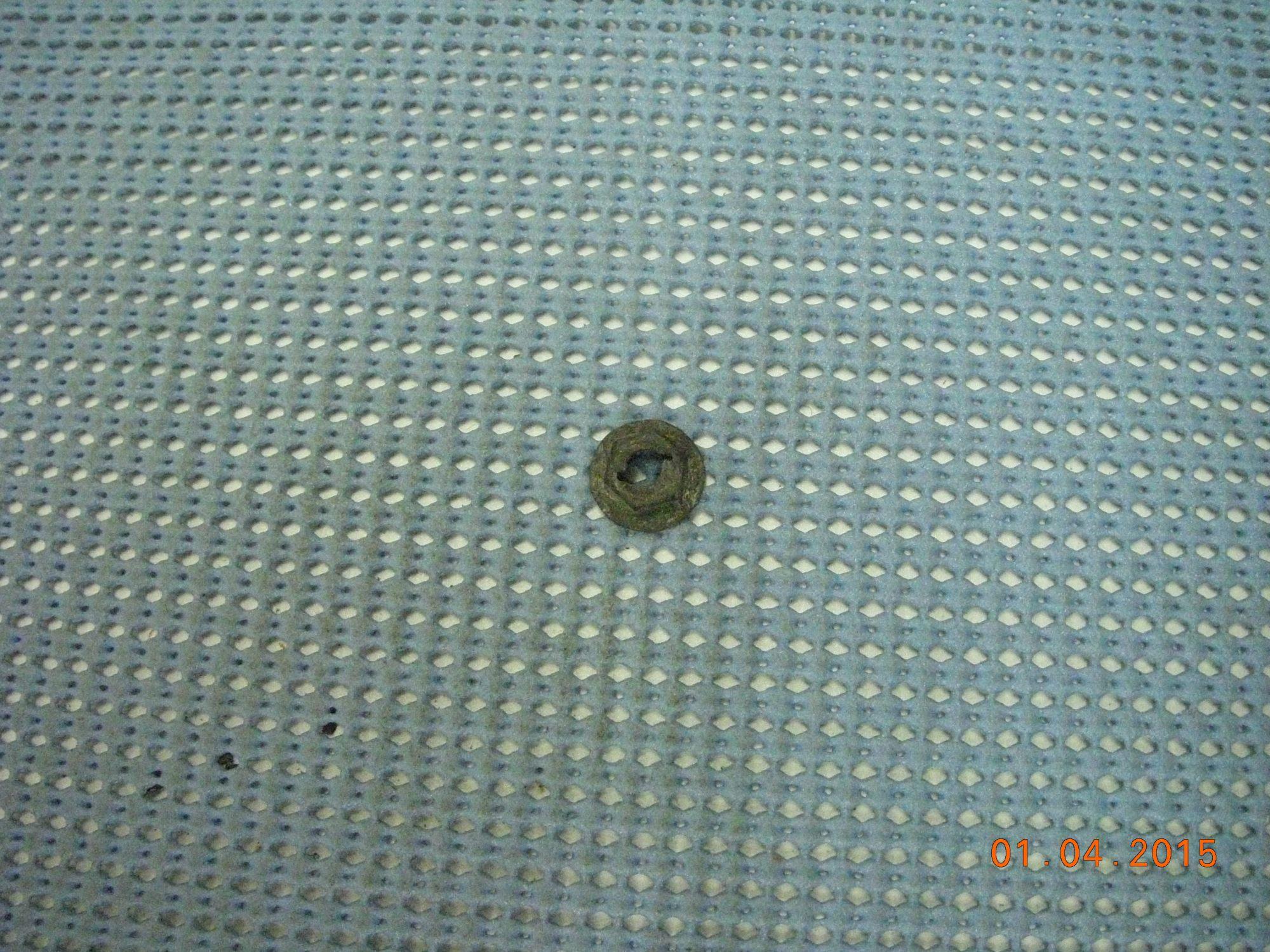 hight resolution of 1972 1993 gm molding and emblem retaining nut nos 9420621