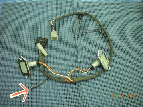 small resolution of 1964 1965 oldsmobile console wiring harness assembly 2983735
