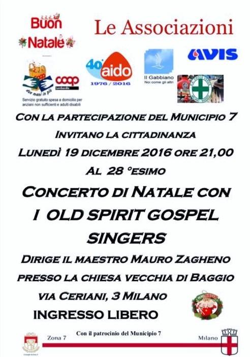 Concerto di Natale a Baggio