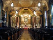 View from nave into sanctuary