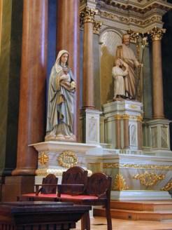Shrines of Mary and Joseph
