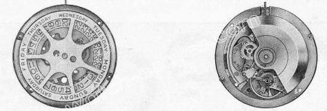 A Schild AS 1885 watch movement