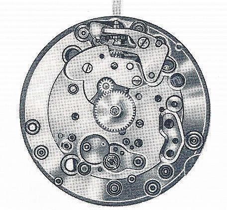 Enicar AR 323 watch movements