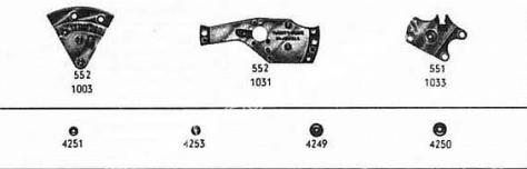 Omega 552 watch spare parts