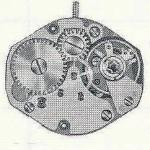 FHF Font 100.101 watch movements