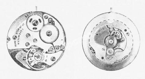 Standard ST 1801 watch movements