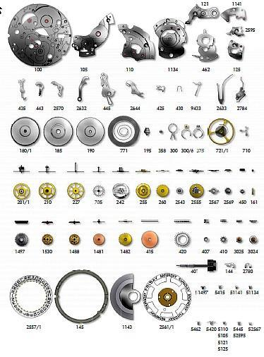 SELLITA SW240 1 watch spare parts