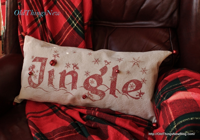 5-Pottery Barn Knockoff Jingle Pillow 001