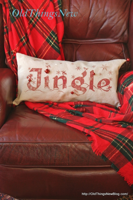 6-Pottery Barn Knockoff Jingle Pillow 011