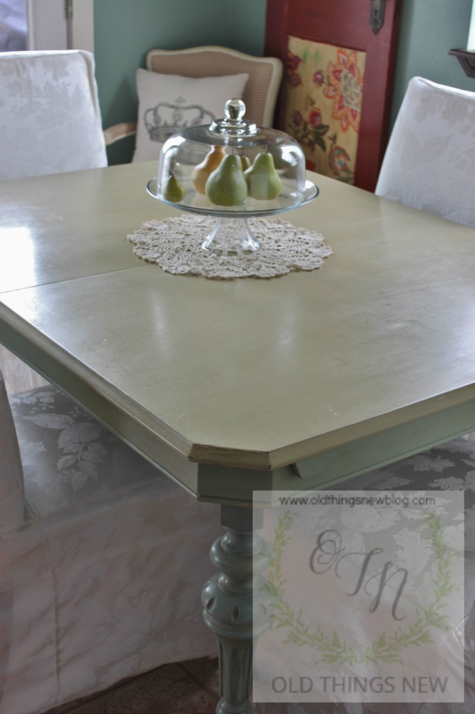 Vintage Kitchen Table (fold-in leaf) 022