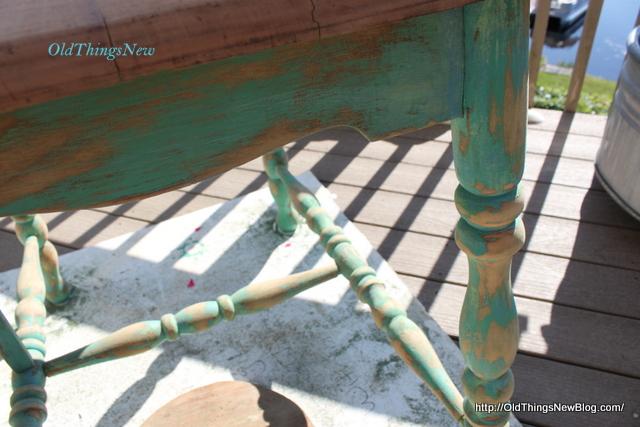1-Drop Leaf Potting Bench 002