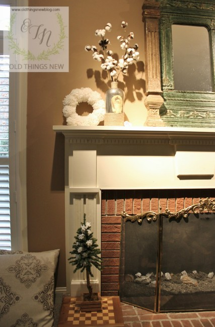 Some winter decor and our living room 009