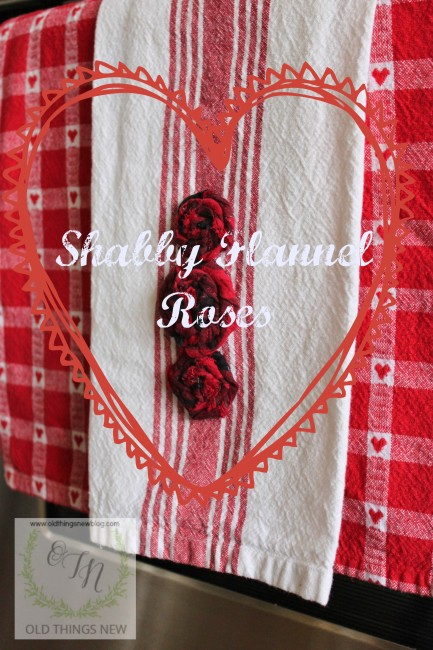 Shabby Flannel Roses
