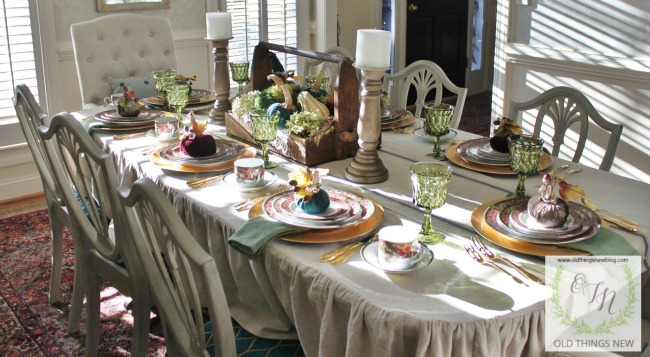 Thanksgiving Table 013