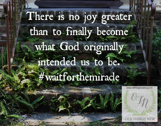 There is no joy greater . . .