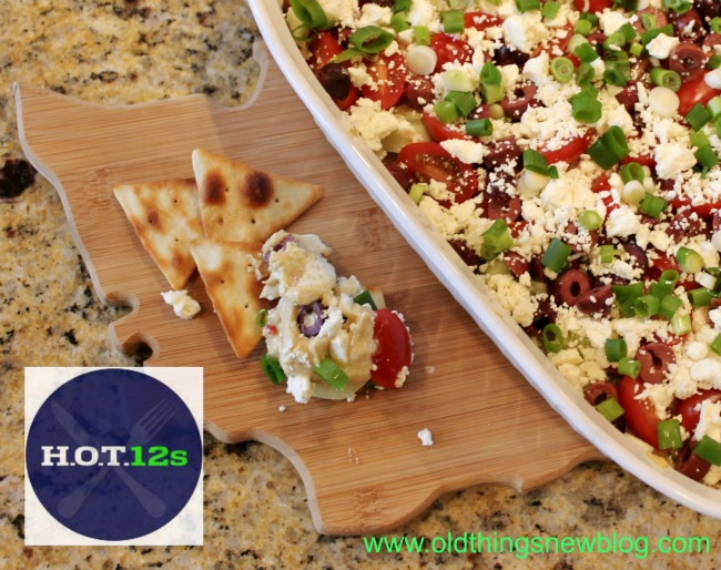 Festive Layered Greek Dip