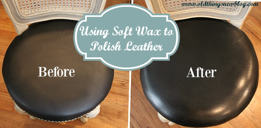Soft Wax on Leather