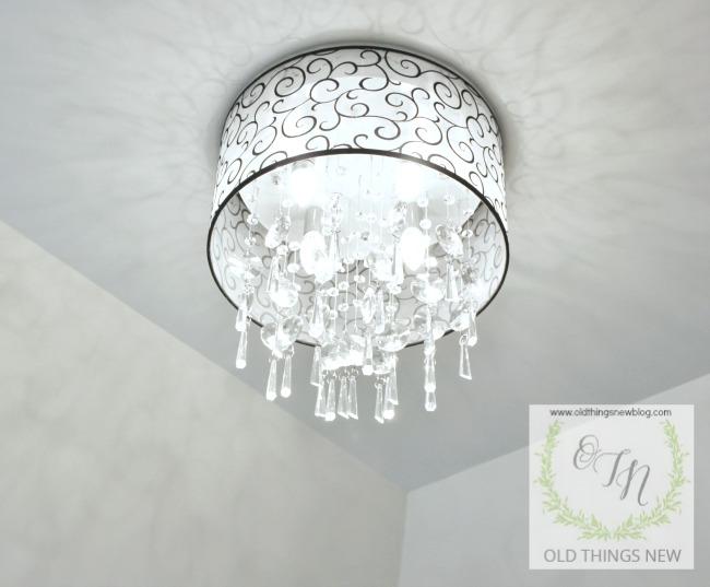 Crystal Bathroom Light Fixture 001