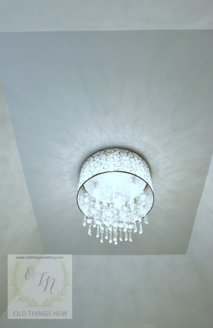 Unique Crystal Bathroom Light Fixture