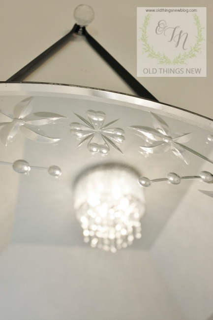 Simple Crystal Bathroom Light Fixture a