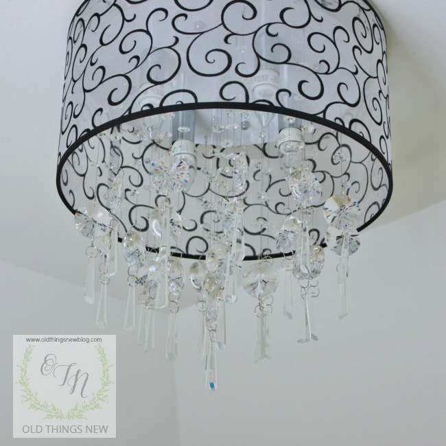 Bathroom Light Fixtures Crystal old things new – overcomeshiny objects & crystal light fixtures