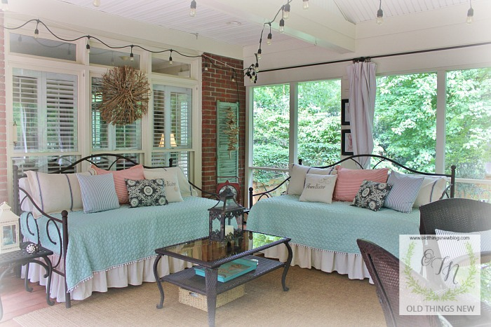 ideas for turning a porch into a sleeping porch