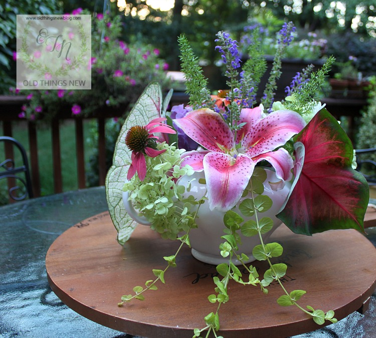 How To Create An Ever Lasting Flower Arrangement Old Things New