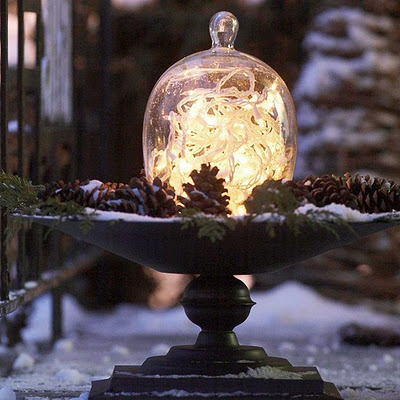 Christmas Cloche Ideas