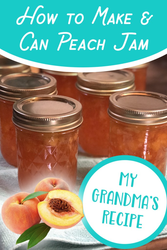 How to Make & Can Peach Jam